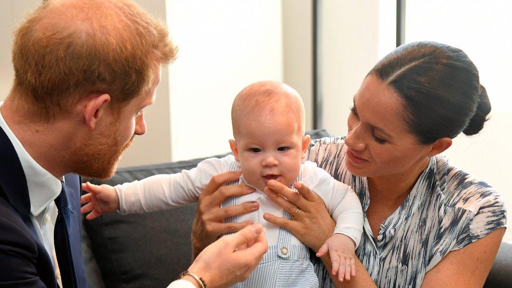 Prince Harry, Archie Mountbatten-Windsor, Meghan Markle