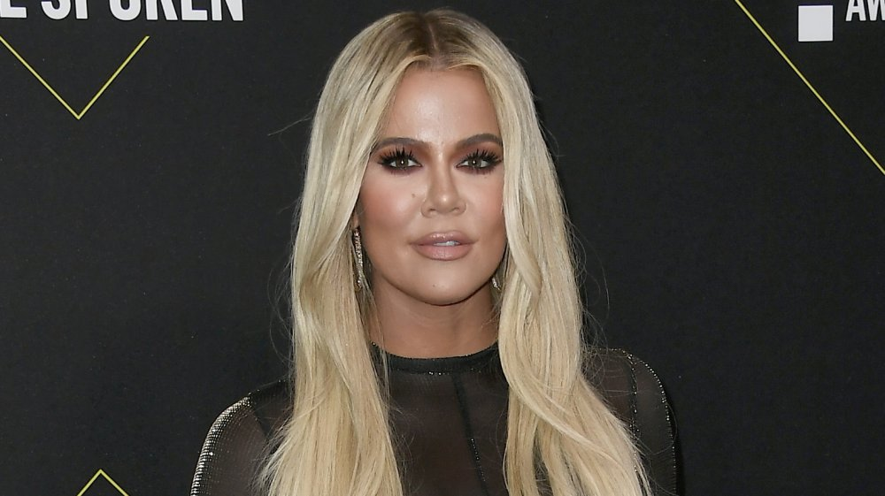 Khloe Kardashian aux People's Choice Awards 2019