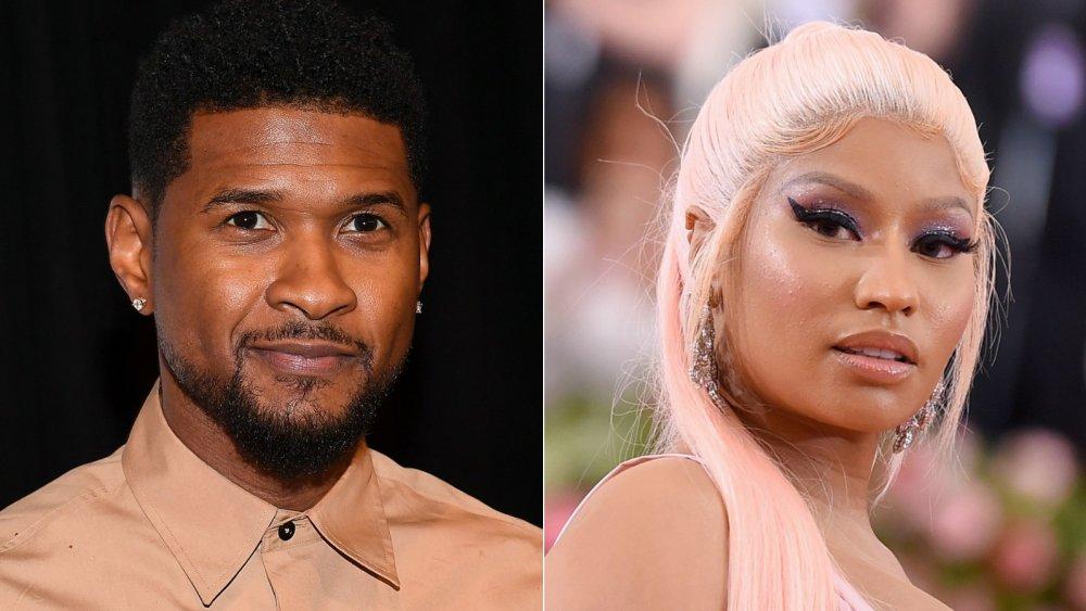 Usher, Nicki Minaj
