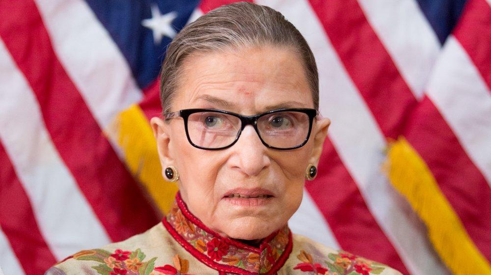 La juge Ruth Bader Ginsburg de la Cour suprême