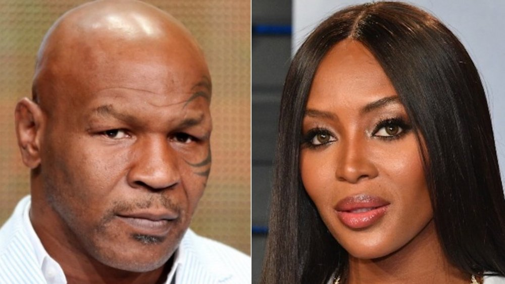 Mike Tyson et Naomi Campbell