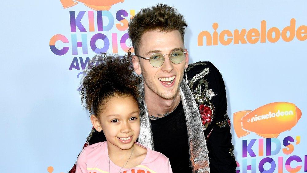 Machine Gun Kelly et sa fille Casie