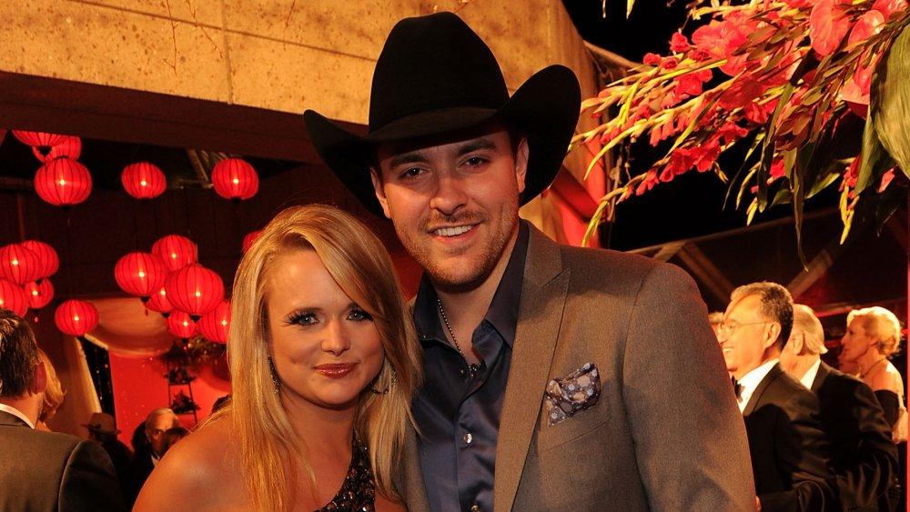 Miranda Lambert et Chris Young souriant