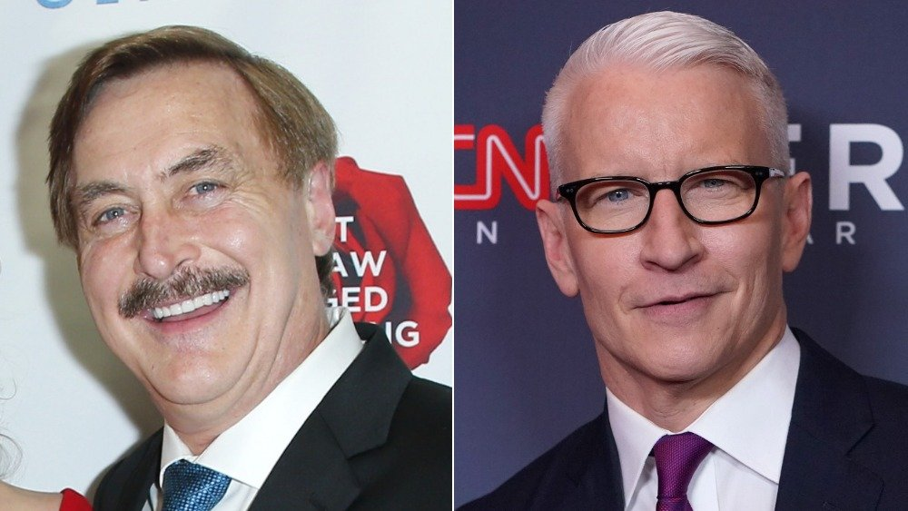 Mike Lindell, Anderson Cooper