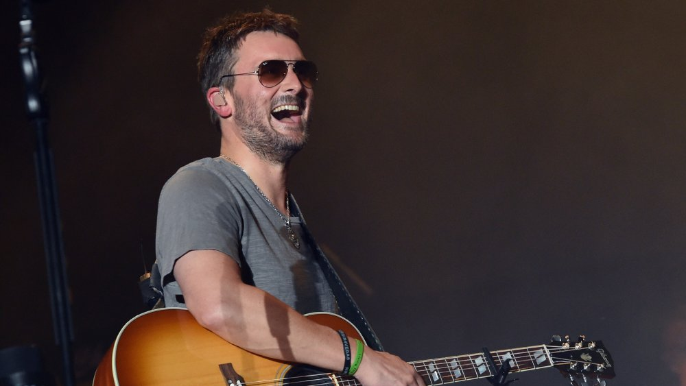 Eric Church at Pepsi's Rock the South Festival in 2018