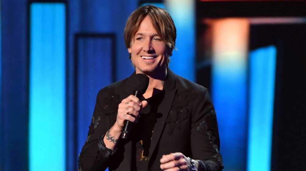 Keith Urban at the 55th Academy of Country Music Awards