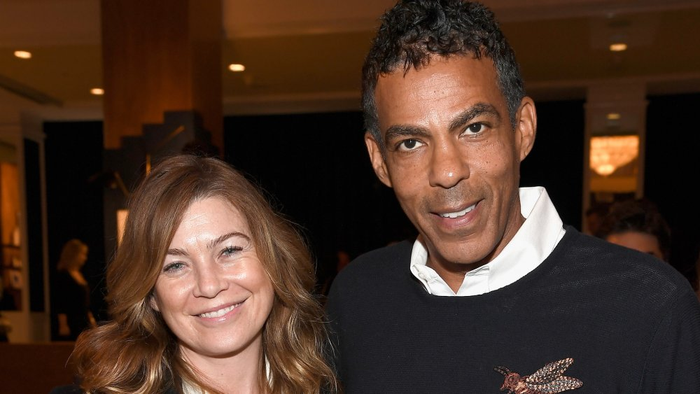 Ellen Pompeo and Chris Ivery arm in arm