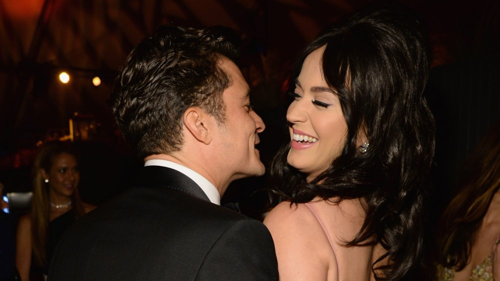 Orlando Bloom and Katy Perry at a Golden Globes party in 2016