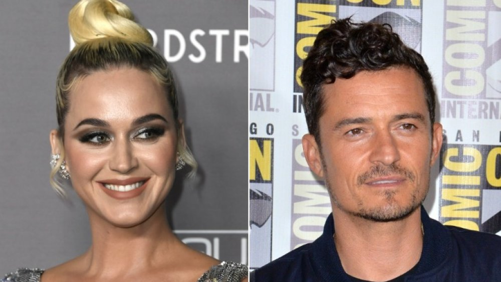 Katy Perry at 2019 Baby2Baby Gala; Orlando Bloom at Comic-Con in 2019