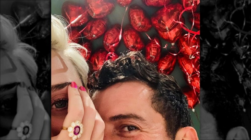 Katy Perry and Orlando Bloom's engagement announcement
