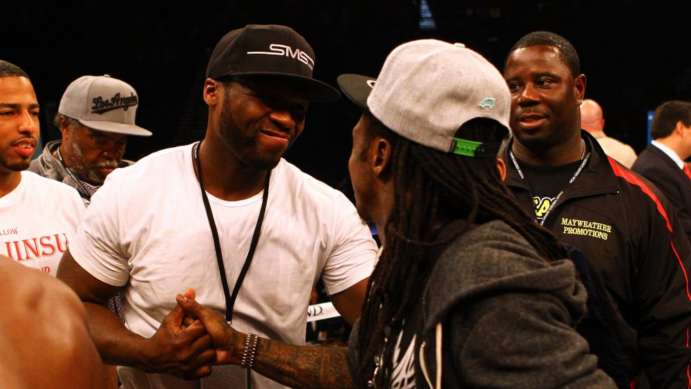 Lil Wayne and 50 Cent