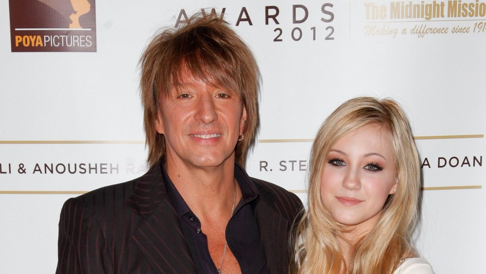 Richie and Ava Sambora