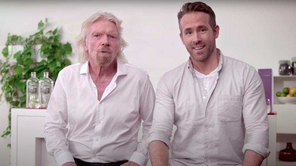 Sir Richard Branson et Ryan Reynolds annoncent l'accord Virgin Atlantic / Aviation