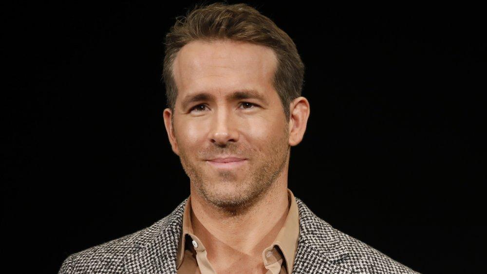 Ryan Reynolds souriant