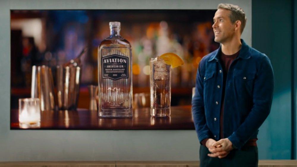 Ryan Reynolds dans une publicité Samsung