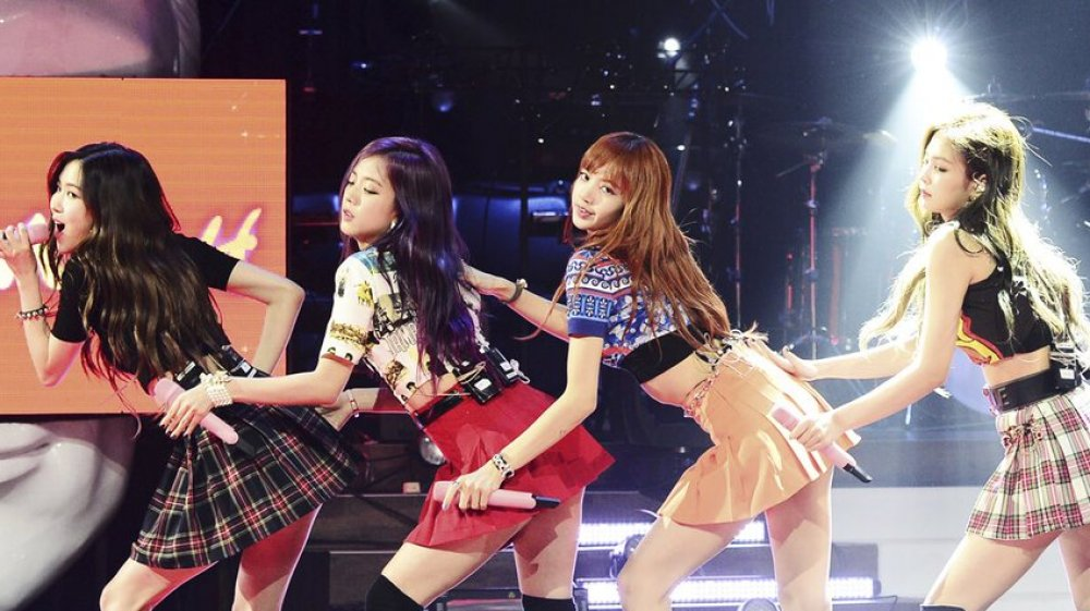 BLACKPINK performs on JYP's Party People