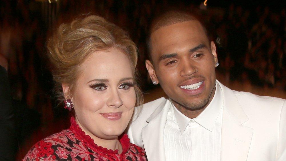 Chris Brown, Adele