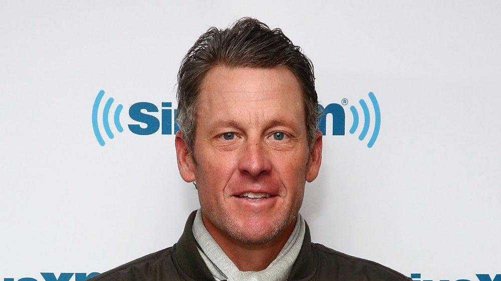 Lance Armstrong aux studios SiriusXM en 2017