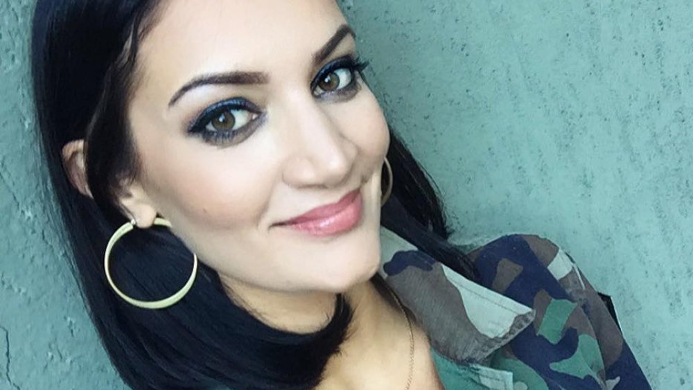 Sophie Brussaux takes a selfie