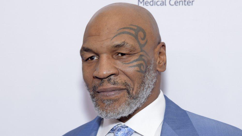 Mike Tyson et son tatouage de visage signature