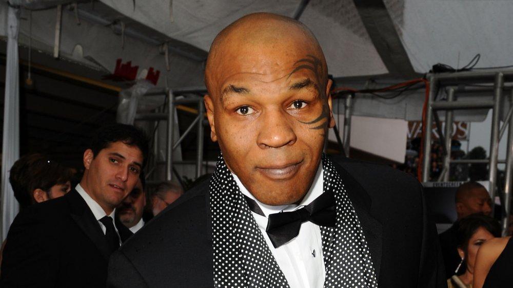 Mike Tyson lors d'un événement officiel