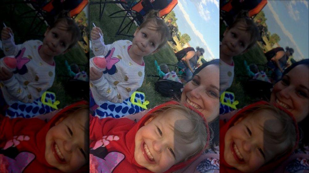 Selfie de Shanann Watts et de ses filles
