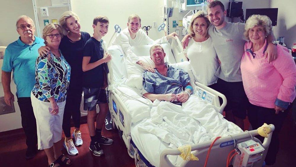 La famille Chrisley rend visite à Kyle Chrisley à l'hôpital