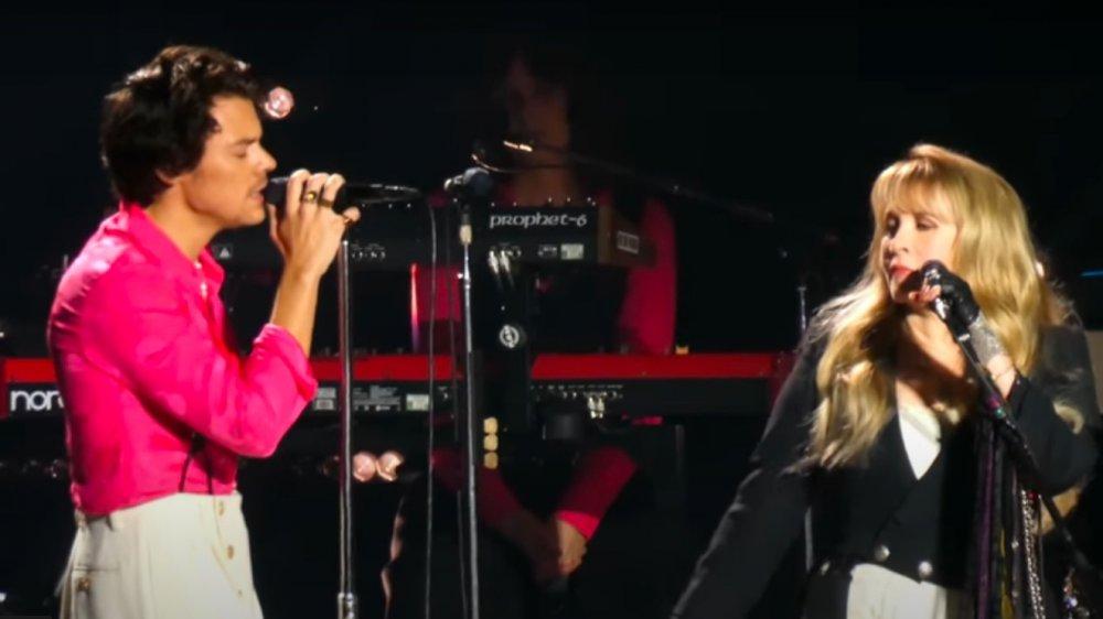Harry Styles et Stevie Nicks chantent sur scène