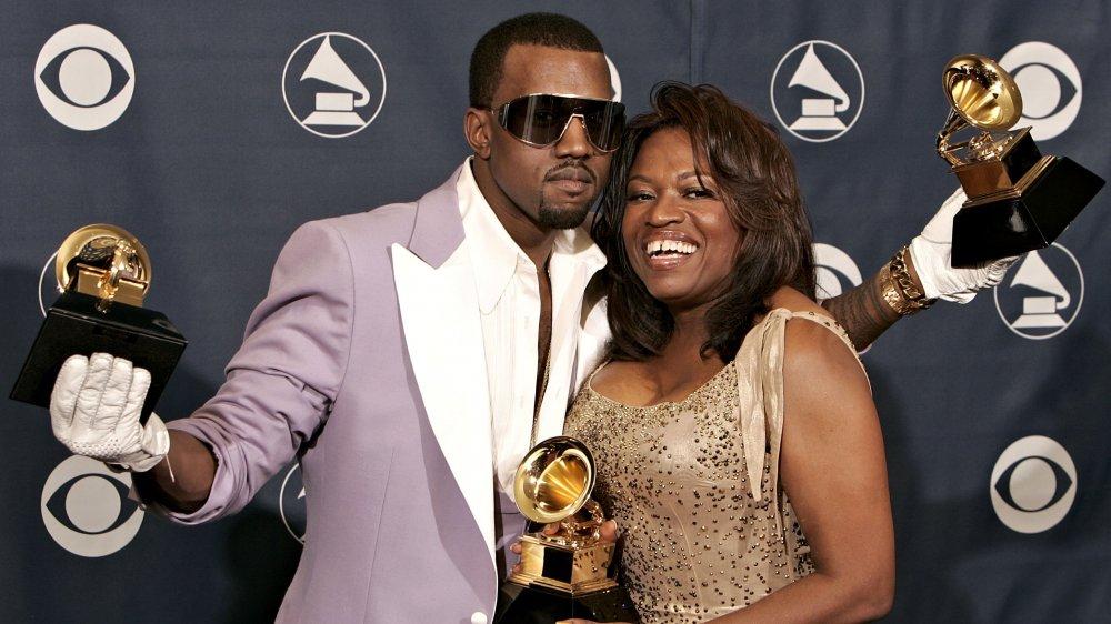 Kanye West et Donda West aux Grammys 2006
