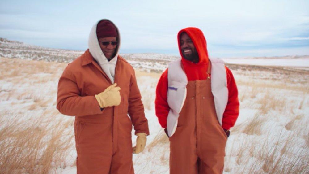 """Ray West et Kanye West dans la vidéo """"Follow God"""""""