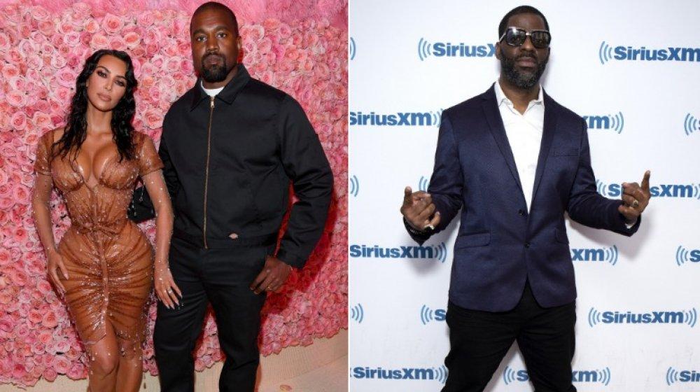 Kim Kardashian, Kanye West et Rhymefest