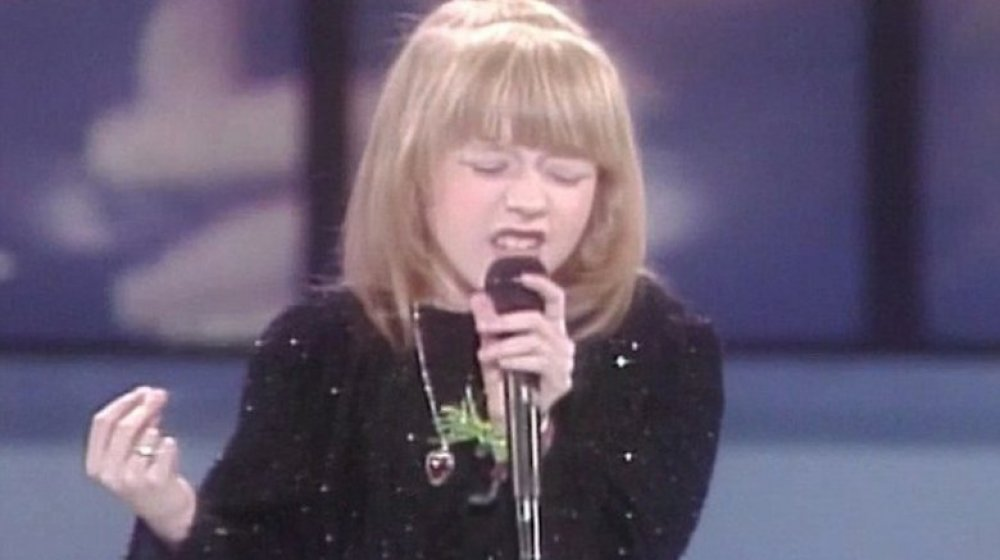 Christina Aguilera sur Star Search