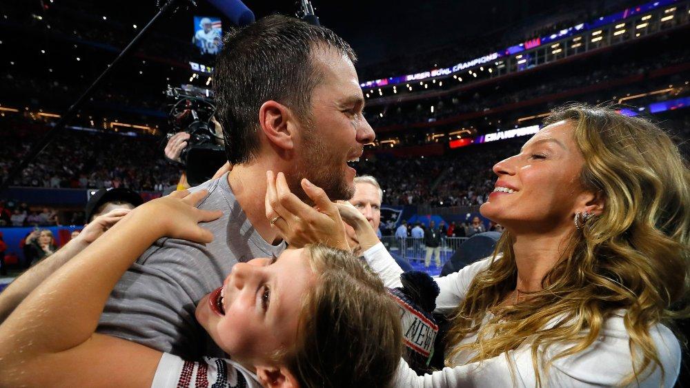 Tom Brady et sa famille