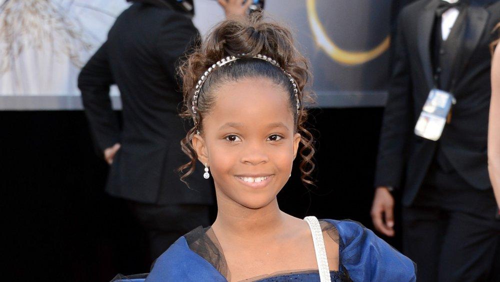Quvenzhané Wallis à la 85e cérémonie des Oscars