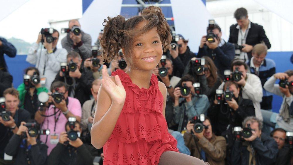 Quvenzhané Wallis au 65e Festival de Cannes