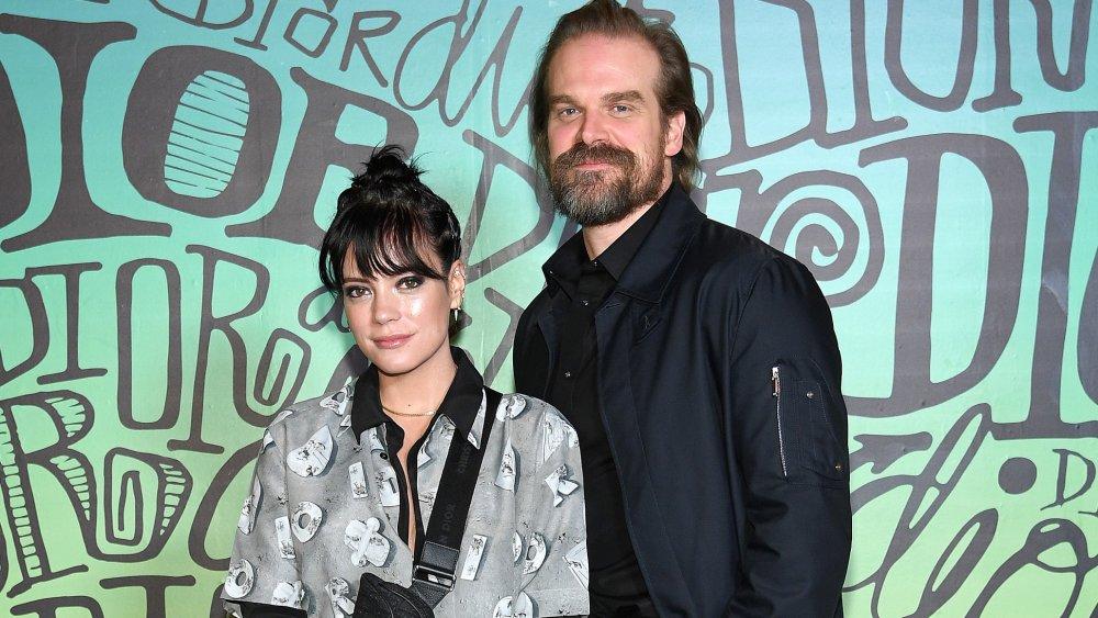 Lily Allen et David Harbour au défilé Dior Homme Automne 2020