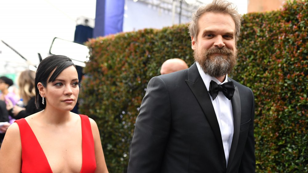 Lily Allen et David Harbour à la 26e cérémonie des Screen Actors Guild Awards
