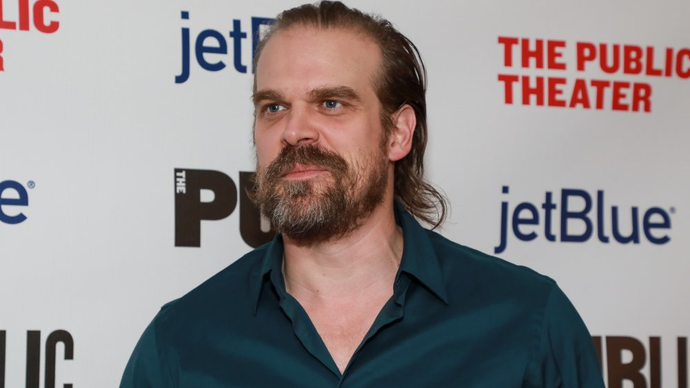 David Harbour à la soirée d'ouverture A Bright Room Called Day en 2019