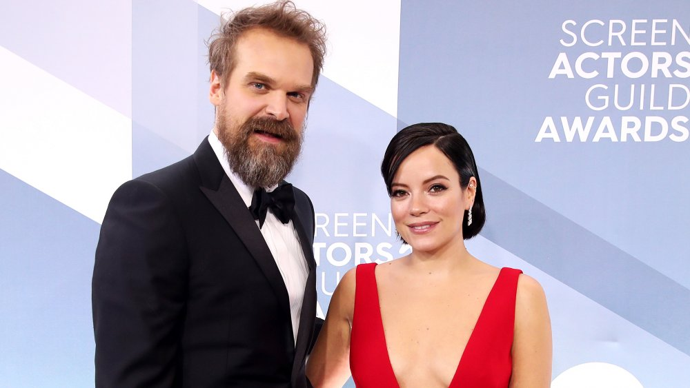 David Harbour et Lily Allen à la 26e édition des Screen Actors Guild Awards