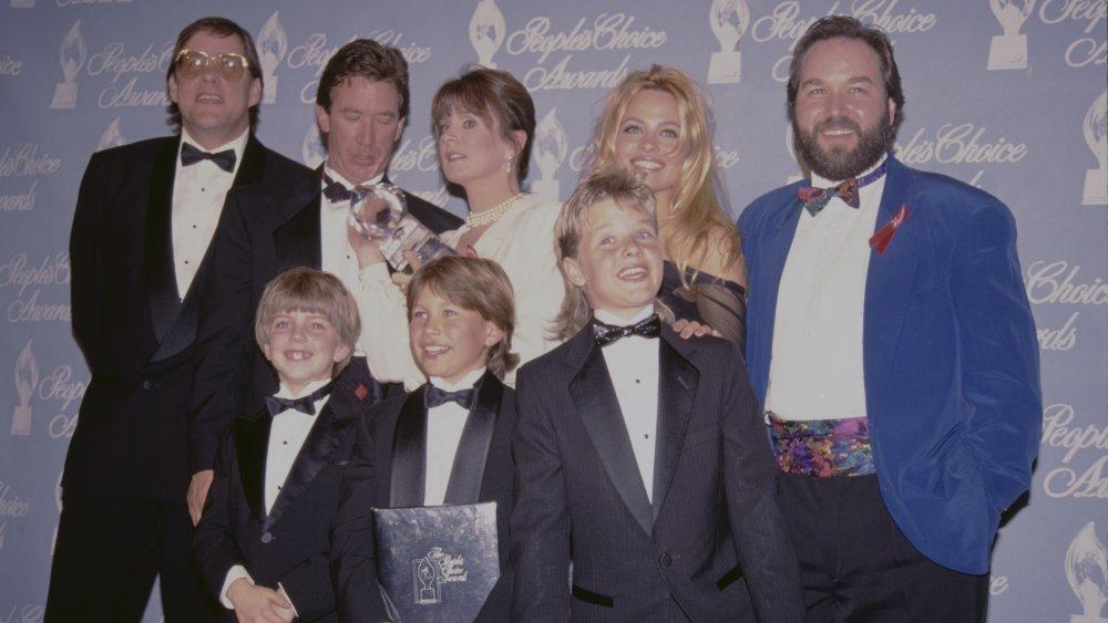 Zachery Ty Bryan avec le casting de Home Improvement aux People's Choice Awards