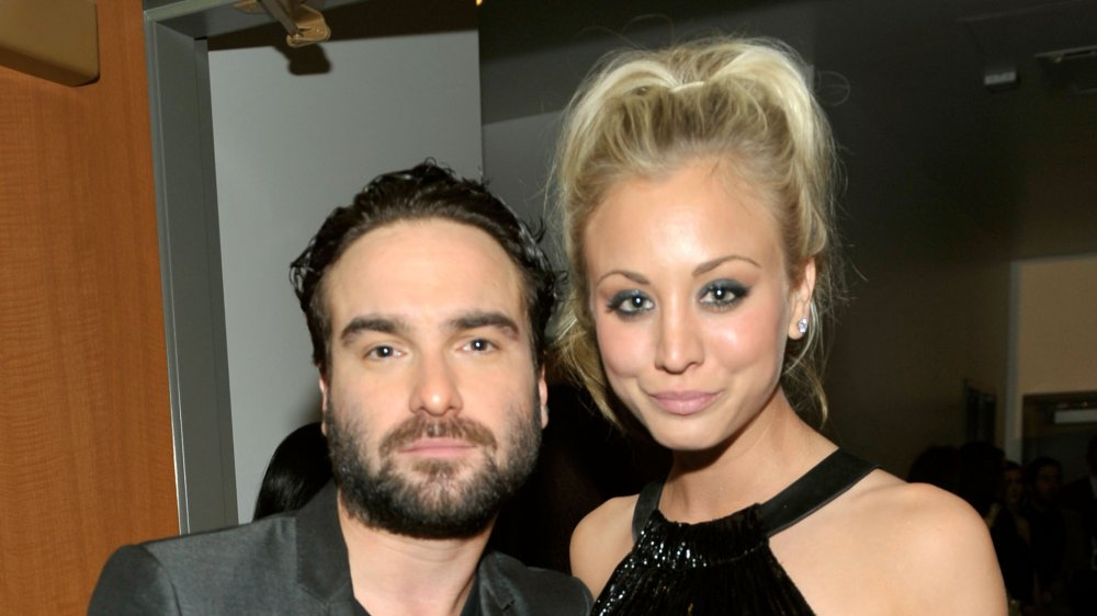 Johnny Galecki et Kaley Cuoco aux People's Choice Awards 2010