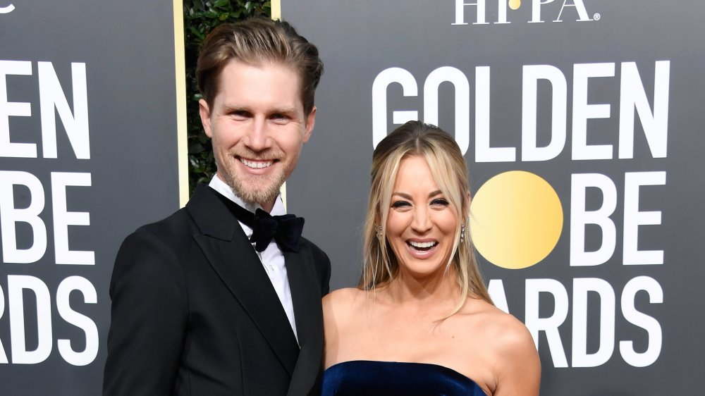 Karl Cook et Kaley Cuoco aux 76e Golden Globe Awards annuels