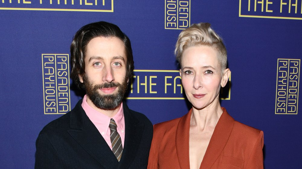 Simon Helberg et Jocelyn Towne au The Father au Pasadena Playhouse en 2020