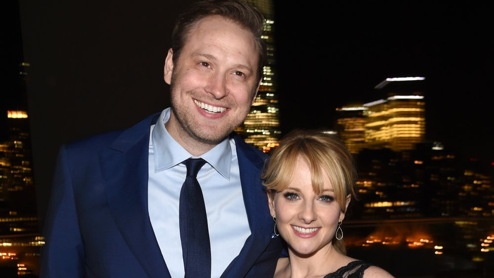 Winston Rauch et Melissa Rauch à l'afterparty de la projection de bronze en 2016