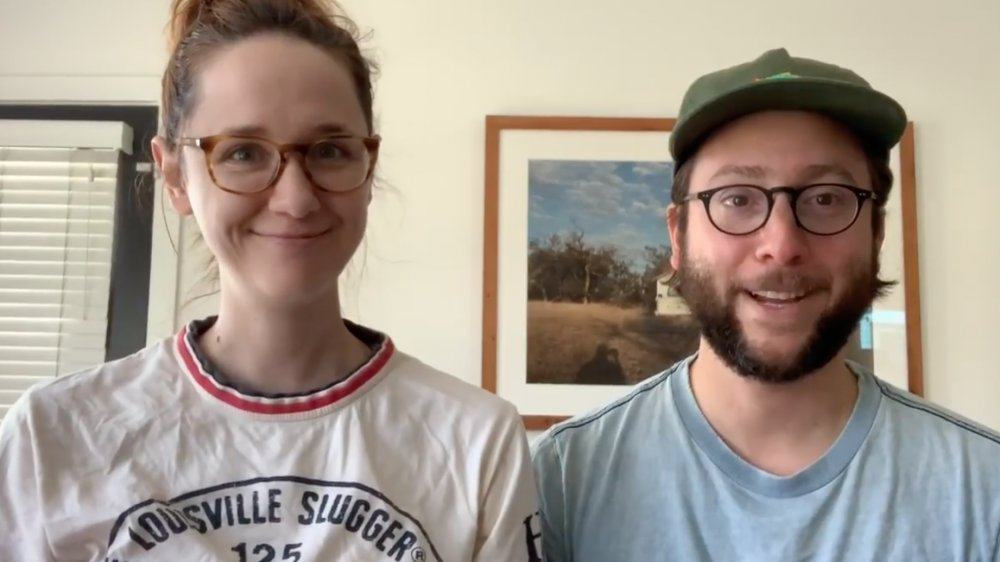 Laura Spencer et Michael Greenwald dans un post Instagram 2020