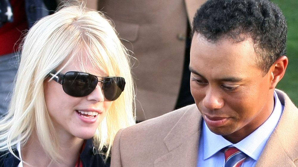 Elin Nordegren et Tiger Woods côte à côte