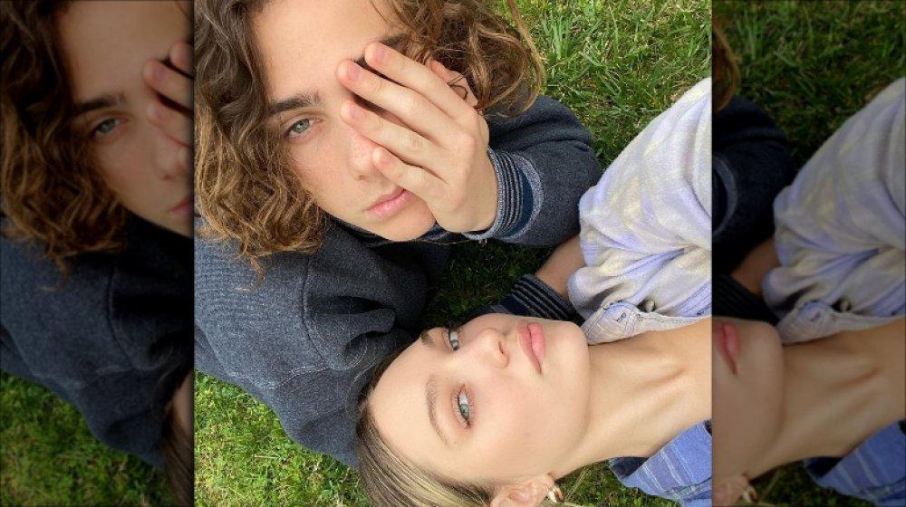 Maddie Ziegler et Eddie Benjamin