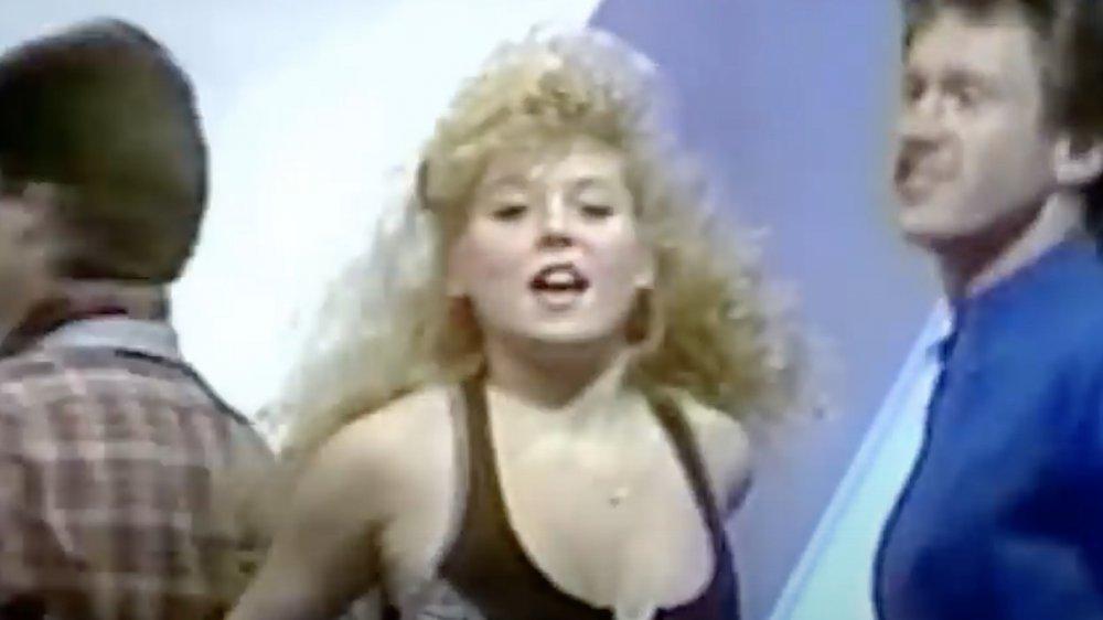 Kelly Ripa sur Dance Party USA