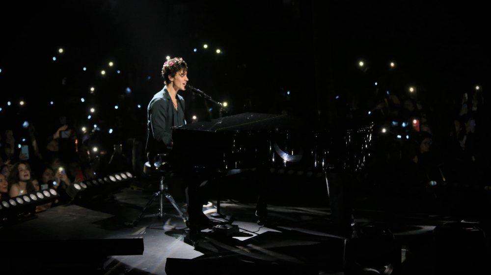 Shawn Mendes sur scène au Mexique