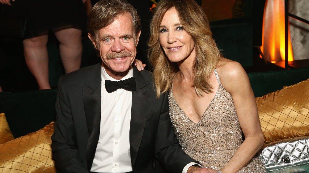 William H.Macy et Felicity Huffman aux Golden Globes